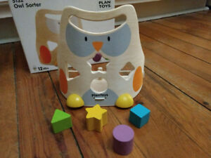 Owl Shape Sorting Toddler Toy