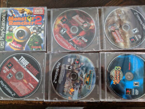 Assorted PS1/PS2 Games
