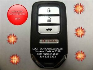 HONDA ACCORD smart key keyless entry remote fob transmitter clic