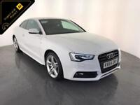 2014 64 AUDI A5 S LINE TDI AUTOMATIC DIESEL COUPE SERVICE HISTORY FINANCE PX