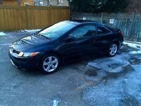 2006 Honda Civic 2DR Coupe EX Sunroof Fully Loaded CERT&ETEST