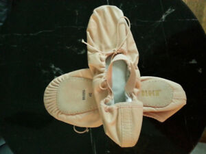 Bloch brand ballet shoes size 6C, never worn!