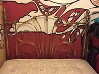 Selling Metal Antique Style Frame and Double Mattress