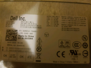 Dell power supply. 265watt
