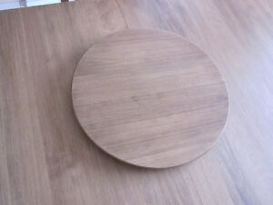 New Bermex Solid Wood Table Top Lazy Susan