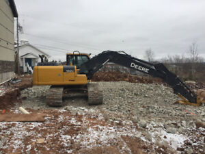 Excavation and Demolition Services Available Now!
