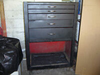 Toolbox on Wheels Motomaster with Tools