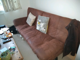 Still Available: FREE Sofa (folds down into bed)