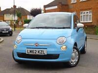 2012 Fiat 500 1.2 Pop 5 Speed Just 1 Owner Only 9,000 Miles Full Fiat Service Hi