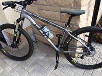 Whyte 901 silver mountain bike