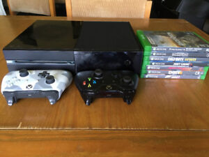 Xbox One, 2 Controllers, 7 Games (Price Negotiable)