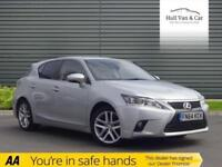 2014 64 LEXUS CT 1.8 200H ADVANCE 5D AUTO 134 BHP