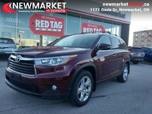 2015 Toyota Highlander Limited   - Certified - $137.85 /Week