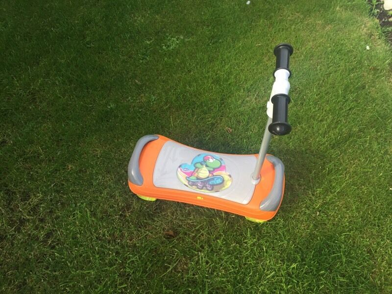 Chicco fit n fun balance skateboard and scooter in one