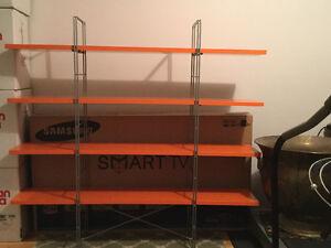 Orange Storage Shelf