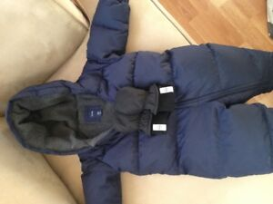 Baby Gap Snowsuit and Kombi Mittens