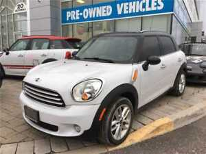 2014 MINI Cooper Countryman Cooper, Pano Roof, Leather, 67,300 K