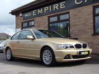 2004 BMW 3 SERIES 318CI ES COUPE PETROL