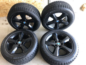 Winter tires and wheels for BMW X5 or X3