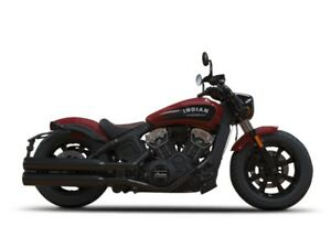 2018 Indian Motorcycle Scout Bobber Indian Motorcycle Red