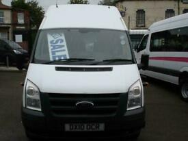 FORD TRANSIT 16 SEAT HIGH ROOF FRONT ENTRY WHEELCHAIR ACCESSIBLE MINIBUS 2010
