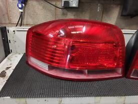 Audi A3 rear light 3 door