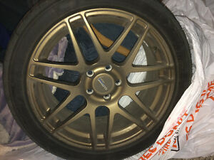 Klasse motorsport apex bronze rims