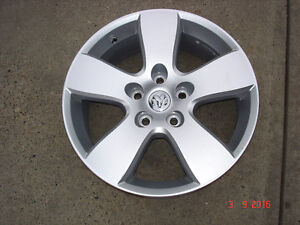 "4 - Dodge Ram 1500 Alum. OEM 20"" x 5 bolt rims , no tires"