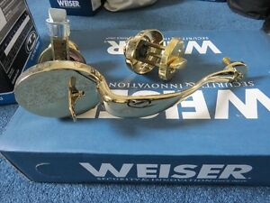 Weiser Front Door lock set