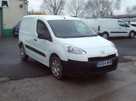 Peugeot Partner 850 S 1.6HDI 92ps DIESEL MANUAL WHITE (2014)