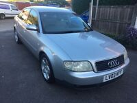 AUDI A6 1.8 T LOW MILEAGE 2 OWNERS FSH GREY LEATHERS