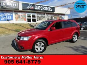 2012 Dodge Journey SXT  Crew  V6 5-PASS BUTTON-START BT ALLOYS