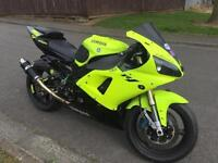 Yamaha R1 road legal track bike