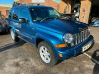 2006 Jeep Cherokee 2006 2.8 CRD Limited 5dr Auto FULL LEATHER ESTATE Diesel Auto