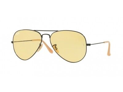 Sonnenbrille ray Ban Sonnenbrille RB3025 Aviator große Metall Foto yellow 90664