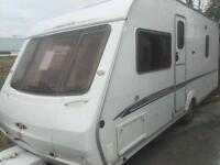 Swift challenger 500 fixed bed 2006 with motor mover touring caravan
