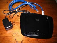 LINKSYS by Cisco Wireless-n Broad Band  Router