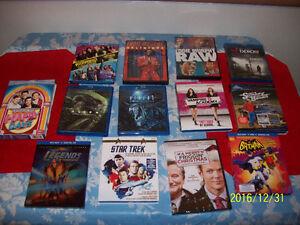 BLUERAY  DVDS  TV BOXSETS