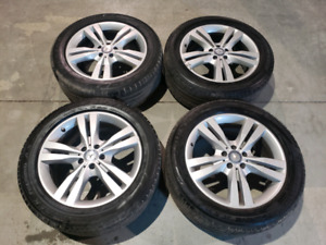 Mercedes ML350 OEM rims and tires