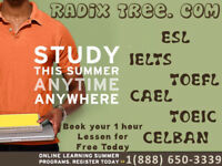 Tutoring for CELBAN CELPIP IELTS TOEFL Special offers Surrey BC