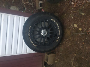 Rims and tires for Ford F-150 for sale