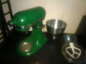 KitchenAid ultra power mixer (Green)