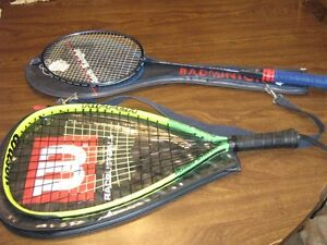FS: Badminton and Racquetball racquets