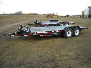 """ NEW "" Rainbow Tandem Axle Car & Equipment Trailers"