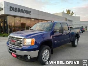 2013 GMC Sierra 2500HD SLT  Gas 2500, Leather, Z71, Remote Start