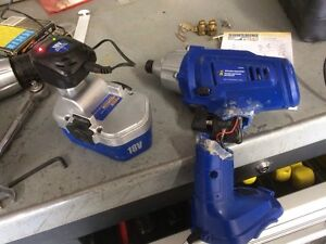 Cordless impact for parts Prince George British Columbia image 1