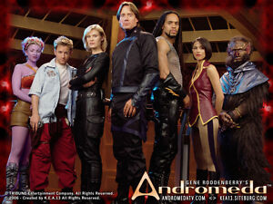 Andromeda COMPLETE TV Series (DVD)