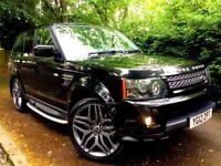 **STUNNING** 2012 RANGE ROVER SPORT HSE SDV6 3.0 DIESEL AUTOMATIC BLACK 4X4