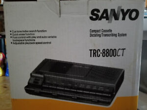 Sanyo Cassette Dictating/Transcribing System