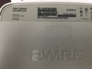Bell 2Wire modem